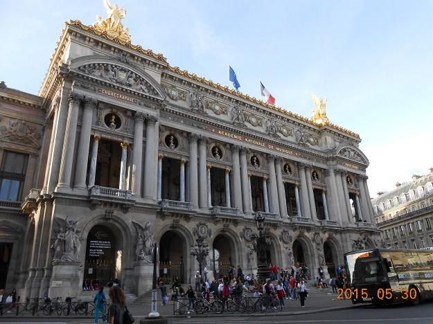 法国自驾 77:巴黎歌剧院广场 Place de l'Opéra