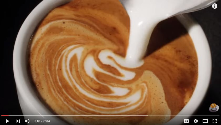 花式拿铁咖啡 | How to Create Latte Art