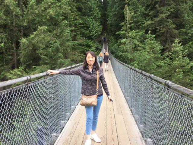 温哥华的吊桥
