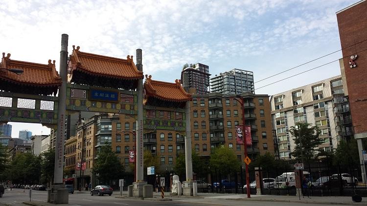 午夜阳光之地阿拉斯加34:温哥华中国城Chinatown