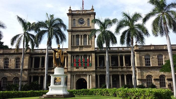 浑然天成的人间仙境夏威夷6: 伊欧拉尼皇宫Iolani Palace