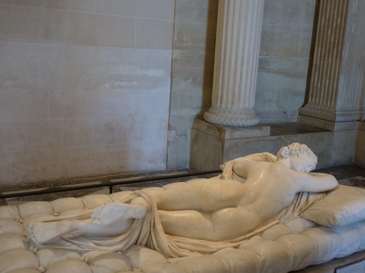睡着的Hermaphroditus