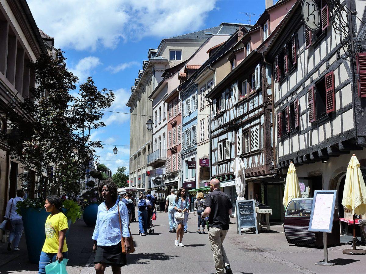 法国最美小镇之一:科玛