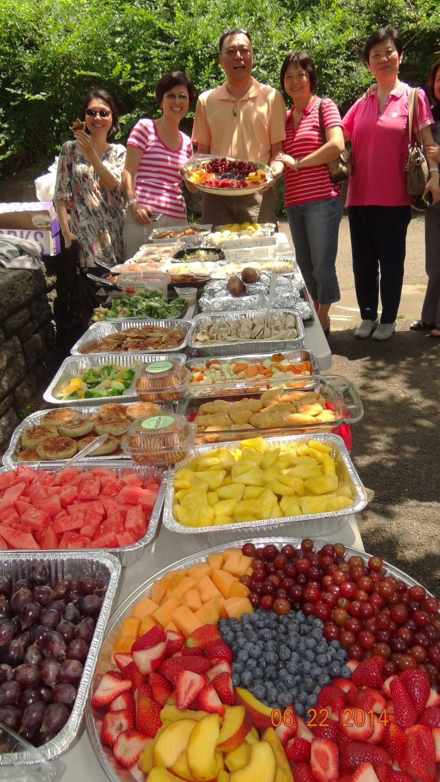 夏季野餐联谊,纽约地区校友聚会