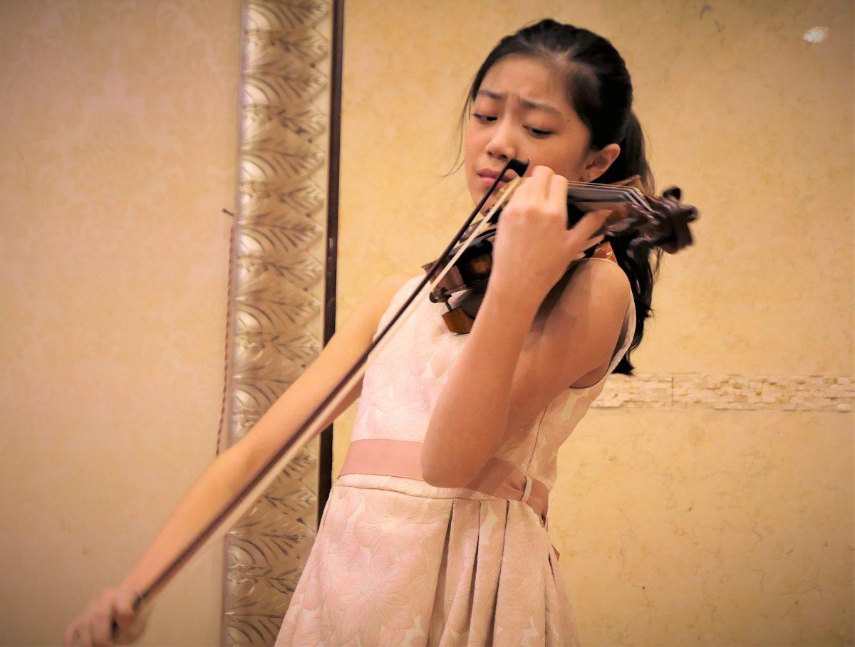 谭允静 (Hannah Tam) 给我们的专场音乐会