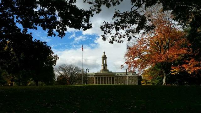 美丽的州学院State College处处是风景