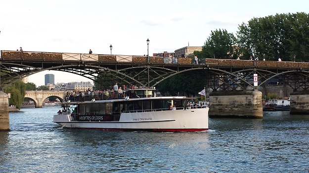 法国自驾 71:艺术桥 Pont des Arts
