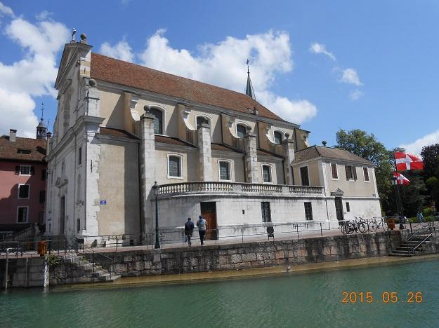 法国自驾 47:安纳西岛宫 Palais de I'île