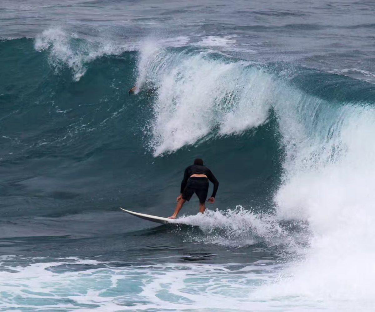 夏威夷的弄潮儿 (陈先生原创摄影)
