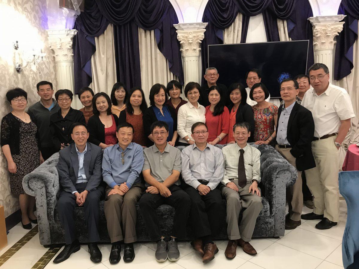 纽约地区校友庆祝陈列平教授获奖交流会