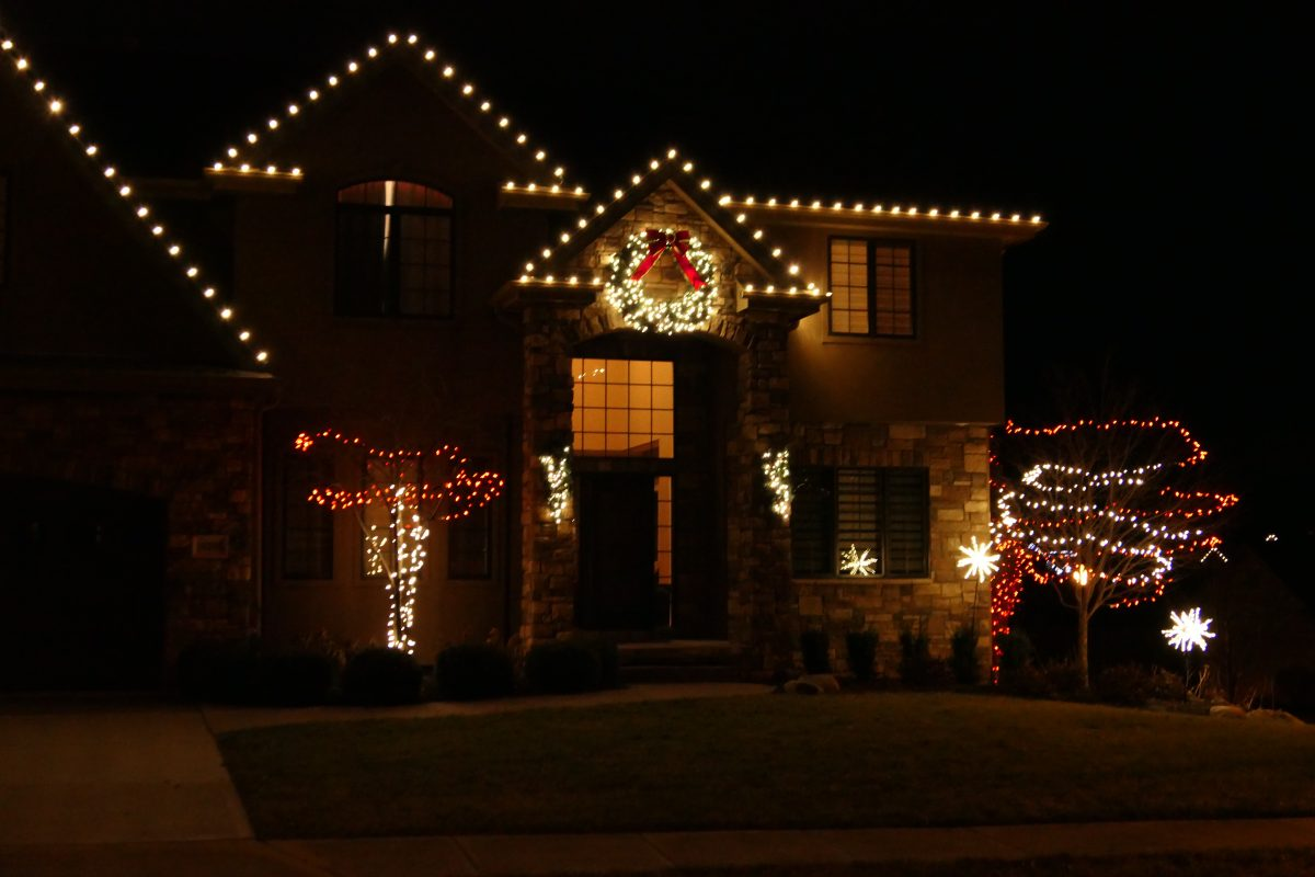 Parade of holiday lights