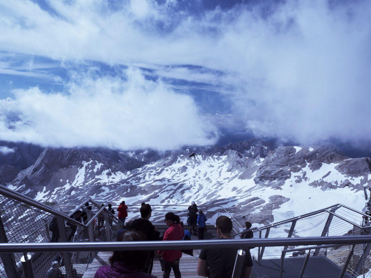 一览众山小 – 楚格峰,德国最高山峰