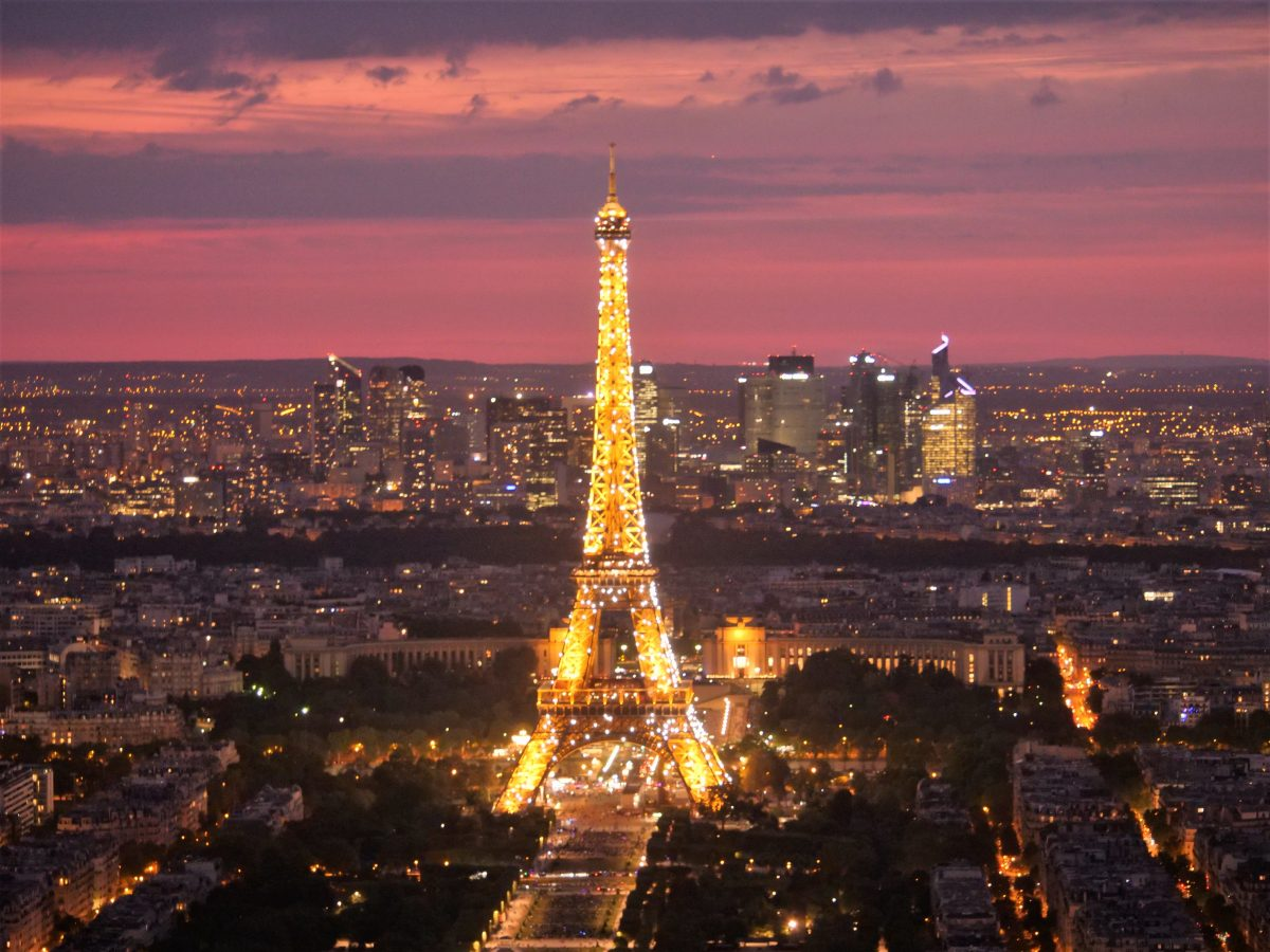 观赏巴黎全景的最佳地点,是不是艾弗尔铁塔?