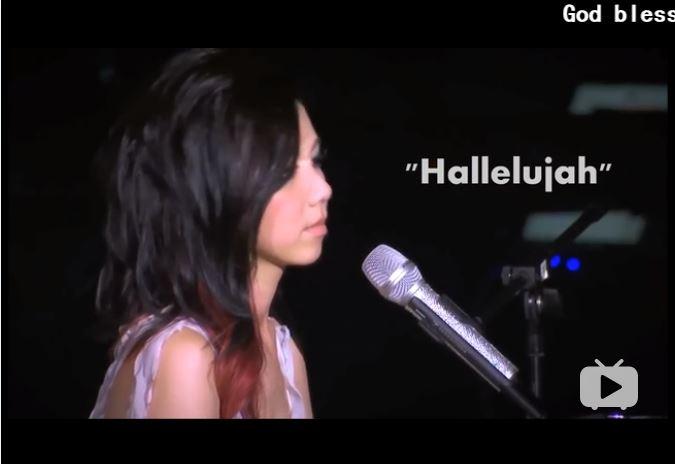 英文版哈利路亚- Hallelujah (鄧紫棋 钢琴独奏并演唱 配歌词)