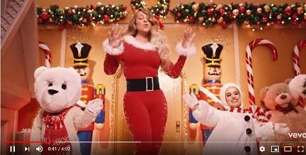 Mariah Carey 圣诞神曲最新MV
